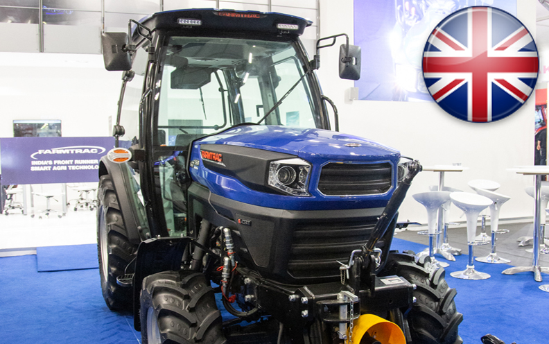 FARMTRAC DISPLAYS RANGE OF SMART TRACTORS AND FARMING IMPLEMENTS AT EIMA 2018