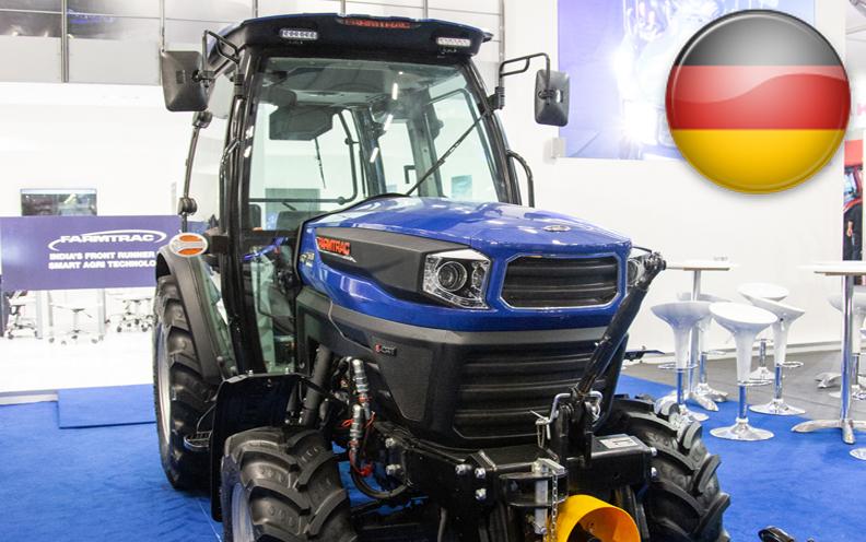 FARMTRAC STELLT AUF DER EIMA 2018 EINE REIHE SMARTER TRAKTOREN UND LANDWIRTSCHAFTLICHER GERÄTE AUS