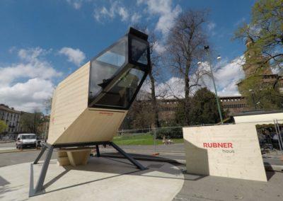 """Rubner Haus al FuoriSalone con """"Spaceship"""""""