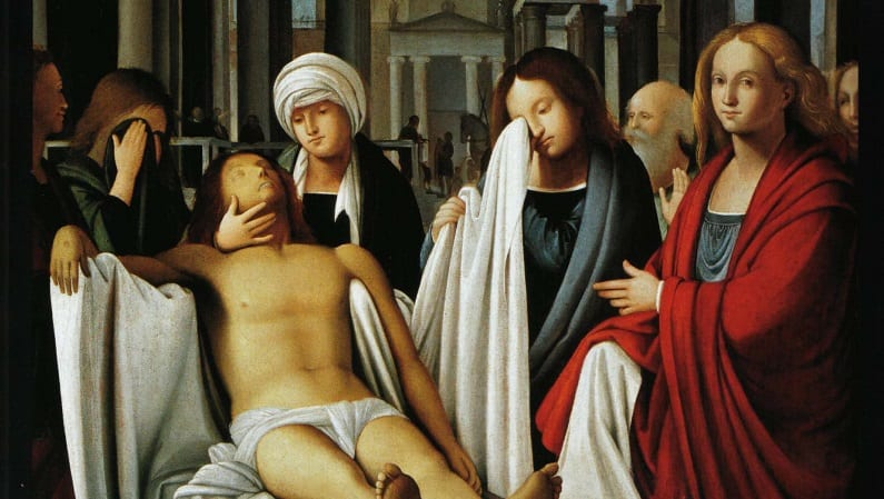Bramantino Pietà Artaria