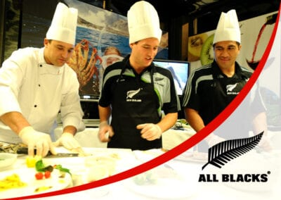Cooking with the All Blacks